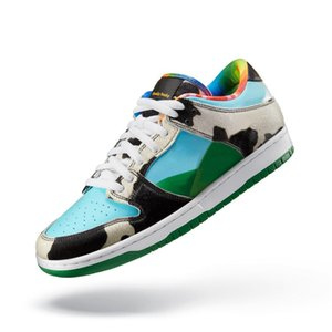 High Quality Ben & Jerry's SB Dunk Low Wackiest Sneakers 2020 New Men Women Multicolor Skateboard Shoes Size 36-45