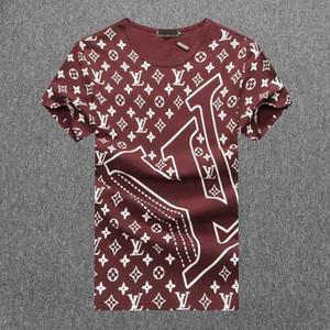 Großhandel 2020 neue Luxus-Designer Paris-Fans T-Shirt der Männer Kleidung Frauen-Sommer-beiläufige T Shirts Cotton Brief Mode Short Sleeve Medu