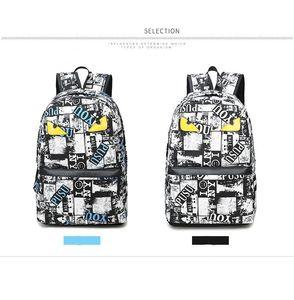 Designer- Brand Backpack Handbag High Quality Double Shoulder Backpack Outdoor Traveling Letter Printed School Bags Free Shipping