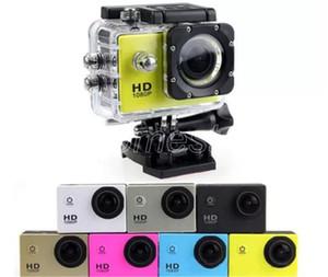 1080P водонепроницаемого спорт камера A9 дешевый HD Дайвинг Действие камеры 30M 2 LCD 140 ° Просмотр Мини DV DVR цифровых видеокамер