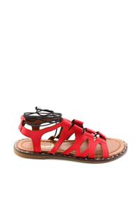 Bambi Kırmızı Kadınlar Sandalet H0631155309