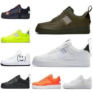 Nike Air Force 1 Forces shoes Entwerfer beschuht 1 ein dreifaches schwarzes Schuh-Skateboarding-Frauen-Mens-Trainer-Sport-Turnschuhe 36-45 Freies Verschiffen