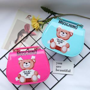 Neue Kinder-Mädchen-Tasche Kind Handbag Designer Kind-Mädchen-Handtaschen Schultertaschen Mode Kinderhandtaschen Mini-Baby-Tasche Geschenk