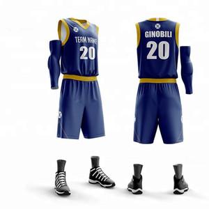 Customize High Quality Men Women Boys Basketball Jerseys Set Blank College Tracksuit Breathable Training Team Basketball Uniform jersey