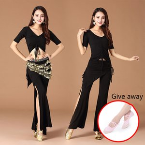 Spring and summer new belly dance practice exercise suit set large size modal yoga clothing pumping jacket