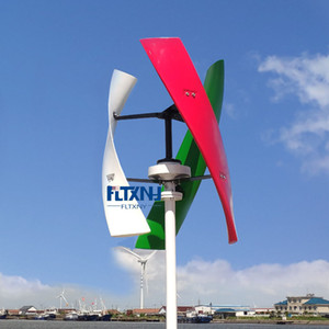 300W 600W 12v 24v 48v Вертикальные ветротурбины Maglev Ветрогенератор с 1000w ON Сетка Tie инвертор для домашнего использования