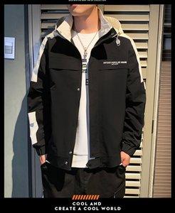 Topstoney CP konng gonng ropa de trabajo nuevo enganche juvenil informal chaqueta 2020 otoño e invierno de los hombres con capucha abrigo de la compañía tendencia de los hombres de la chaqueta