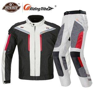 Riding Tribe motocyclette Veste coupe-vent imperméable Moto Veste Moto Racing Riding Vêtements Équipement de protection Taille M-4XL