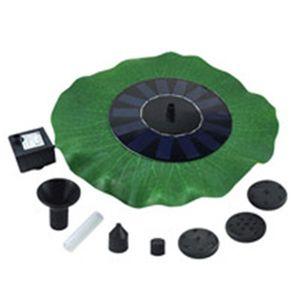 Solar bomba del estanque solar de la decoración piscina de la fuente de la boquilla de riego de la planta solar kit de aves panel de baño Jardín