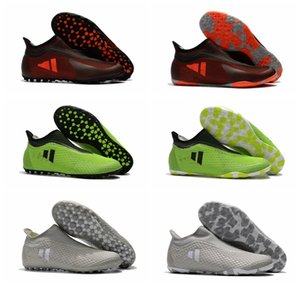 2019 grapas baratas fútbol para hombre zapatos de fútbol sala X Tango 17 botas de fútbol Purespeed TF IC zapatillas de fútbol sala de alta calidad calientes