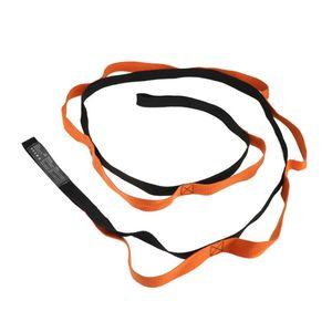 2m Yoga Band Pilates Exercise Belt Ring Physical Exercise Flexible Fitness Resistance Band Fitness Stretching