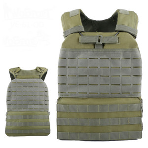 Formation Gilet Tactique Body Armor Cs Wargame Combat Paintball Gilet Molle Plaque Carrierr Gilets