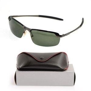 10 قطع عالية الجودة يستقطب رجل نظارات شمسية ماركة مصمم الشمس glassess إمرأة نظارات عالية الجودة مصمم النظارات مع القضية الأصلية