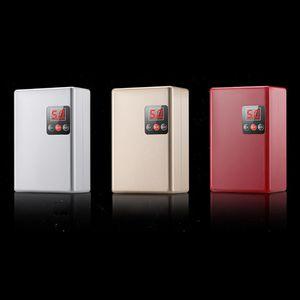 220V 3800W Ducha instantáneo Calentador sin tanque calentador de agua eléctrico de calefacción Calentador de agua para la cocina y el baño color enviados a Ra