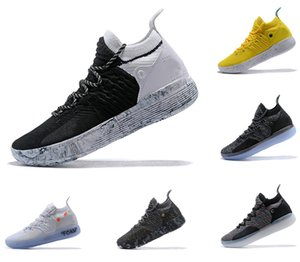 KD 11 Sapatos de Basquete off mens designer de sapatos Zoom Kevin Durant 11s em execução Sapatos esportivos branco luxo vermelho EP Elite Low Sneakers
