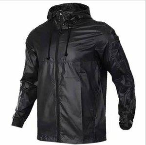 adidas ADIDAS ad coat New Esporte Marca Windbreaker Verão Sunscreen Jacket reflexivo disjuntor homens magros claro masculino jaquetas vento de outono frete grátis