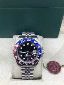 Hommes Sapphire Dive Watch Automatique 2813 GMT II Montres Hommes Sport Batman Pepsi Master 116719 Blo Perpetual 116710 Montres-bracelets superlatifs
