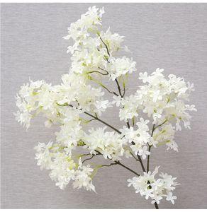 90cm artificielle Fleur Fleur de cerisier Sakura Simulation Branche Photographie Prendre props Photo 6 couleur
