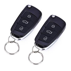 Universal Car Remote Keyless Entry System Verrouillage central Déverrouiller la porte de la voiture fenêtre automatique Nouveau avec contrôleurs à distance Livraison gratuite