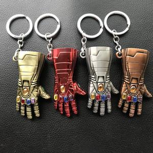 Мстители Эндшпиль Железный Человек Перчатка Бесконечности Перчатка Дизайн Брелки из Сплава