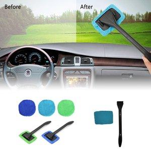 Parabrezza rimovibile Spazzola di pulizia auto disappannamento Window Cleaning Wiper Cucina Bagno finestra di automobile della spazzola di pulizia XD23583