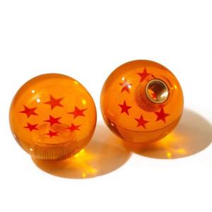 Pomello cambio automatico 7 stelle 54mm Pomello leva cambio Dragon Ball Serie 3PCS Adattatori adatti