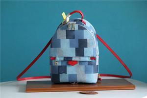 Les femmes de la mode Palm Springs Sac à dos Mini moyen enfants en cuir toile BookBag impression sacs à main en cuir nouvelles