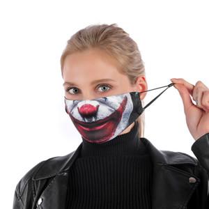 Trendy Brand Design Wiederverwendbare Schutz PM2.5 Filter Druck Mundmaske Anti Staub Gesichtswinddichtes Mund Muffel Maske
