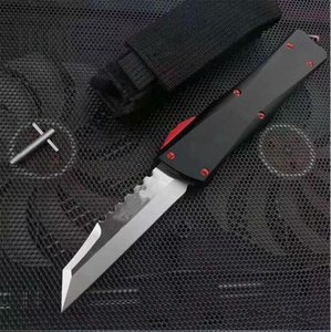 MTautoTF custom sword mark War Star 440C blade double action Hunting Pocket automatic collection knives Xmas gift for men Adfac