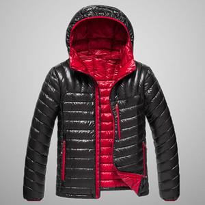 Veste Homme Parkas Vestes 2019 manteau des hommes d'hiver de la jeunesse Luxe Manteau Windcoat Veste Hommes d'hiver Marque pure Color Design Hommes Parkas Manteau