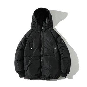 Drop Shipping hiver veste hommes streetwear parka hombre invierno mode hip hop pardessus ABZ97 T190909