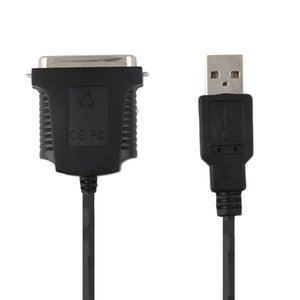 Vendita calda USB a Parallel Port LPT1 36 Pin IEEE 1284 Printer Scanner Cable Adapter spedizione gratuita
