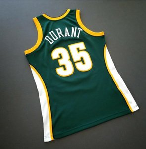 Custom Men Youth women Vintage Kevin Durant Mitchell & Ness 07 08 College Basketball Jersey Size S-4XL or custom any name or number jersey