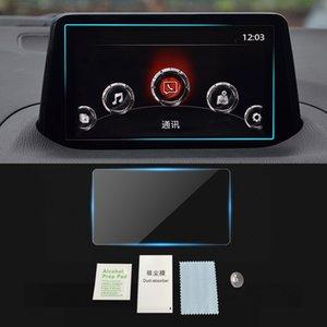 Para MAZDA 3 Mazda3 Axela Tela 2013-2019 Auto Navigation Film GPS Monitor de protecção de vidro temperado Film etiqueta Acessórios