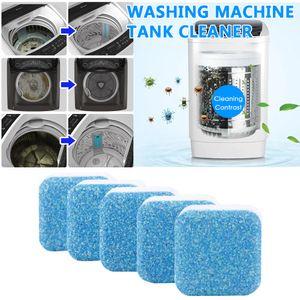 12 PCs / 24 PCs Tab Çamaşır Makinesi temizleyici yıkama Temizleme deterjan efervesan tablet için temizleme sökücü deodorant dayanıklı