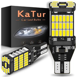 2x 1200Lm T15 LED Canbus Bulbs W16W 920 921 Super bright 4014SMD Car Backup Reverse Light for Fiesta Fusion Focus 3 5