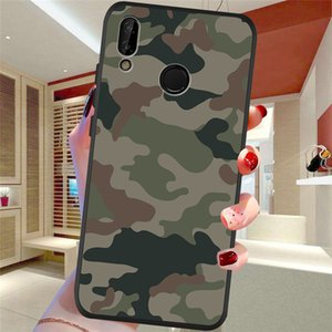 Army Camouflage For Huawei P8 P10 P20 P30 Mate 10 20 Honor 8 8X 8C 9 V20 20i 10 Lite Plus Pro Case Cover Coque Funda fashion