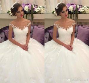 Beach Wedding Dresses Mermaid spaghetti sweep treno pizzo completa abiti da sposa per Beach Garden ordine