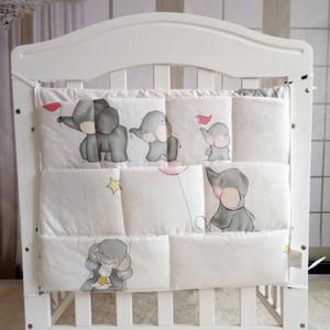 baby Cribs Baby Stroller Bag Organizer bedding set Baby Hanging Basket Storage Diaper Bag many colors CX200609