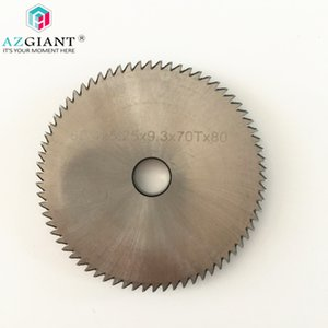 AZGIANT U01 60.4X5.25X9.53mm P01 80x5x16mm fresa hoja de ángulo alto de acero para SILCA herramienta cerrajero máquina clave corte
