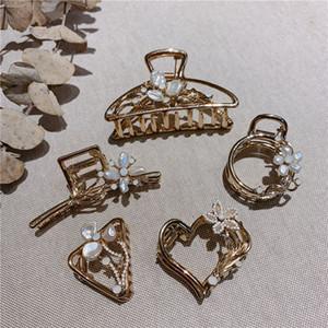 MENGJIQIAO New coreano monili eleganti dei capelli simulata capelli della perla di cristallo da sposa Hairclips di accessori Headwear