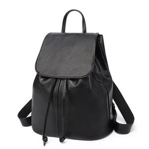 Challen 2020 Zaino in pelle donne zaino nuovo computer portatile Bag le donne popolari Ladeis scuola di moda sacchetto dell'unità di elaborazione