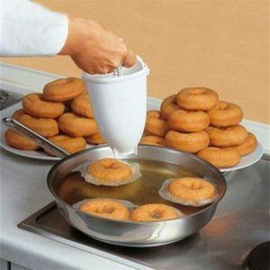 Donut Macchina Popolare creativo fai da te Dessert Peso Donutmaker plastica leggera ciambella Fare Artefatto veloce Facile Ciambella muffa strumento di produzione