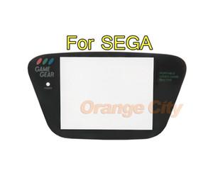 Preto de plástico para a lente de tampa protetor de tela de substituição de engrenagem da Genagem de Sega para o plano GG