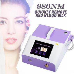 Portable 30W spider vein removal machine 980nm diode laser varicose veins vascular removal machine 980 nm Wavelength 100J high