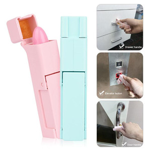 Portable Press Elevator Tool Public Place Avoid Cross Infection No Touch Open Door Tool Gadget Epidemic Prevention Tool Safety Assist Tools