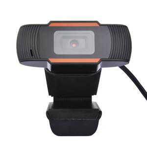 Webcam HD con microfono 720p Auto Focus 2 Megapixel USB Streaming Telecamera per computer