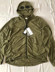 금속 나일론 두 안경 고글 남자 재킷 캐주얼 cp 회사 후드 야외 빗나간 검은 군대 greensize m-xxl