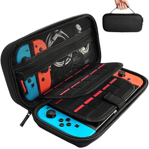 Héstia Goods Switch transporting Case compatível com Nintendo Switch - 20 cartuchos Protective Hard Shell Travel transporting Case Pouch
