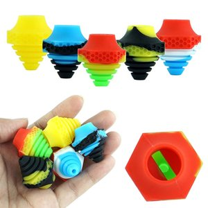 Silicone Carp Cap Accessories for vape Nonstick silicone lid Bubble cap Carps Dabber for Smoking bong Water Pipe